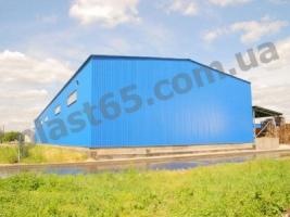 Ангары быстровозводимые под ключ, строительство ангаров и складов.