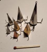 """Блесна """"Конус"""" ручной работы для ловли хищника: окуня, щуки, судака."""