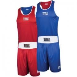 Боксерская форма TITLE (двухсторонняя)