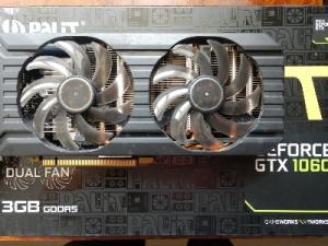 бу ВидеоКарту   PALIT GeForce GTX 1060 3GB GDDR5 192bit