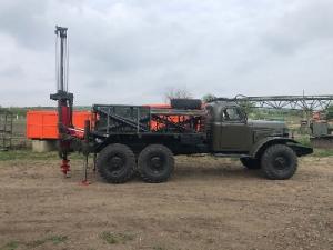 Буровая установка БГМ 1 на базе Зила 157 с конверсии малая наработка