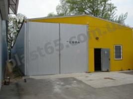 Быстровозводимые склады, ангары под ключ в Украине.