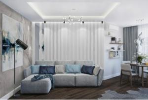 Дизайн стен в интерьере. Монтаж 3D панелей Киев гипсовый декор