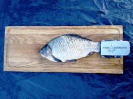 Дубова дошка з зажимом для чищення риби Fish Grinder