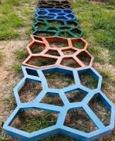 Форма для садової доріжки Житомирі. Садова доріжка з бетону у Житомирі
