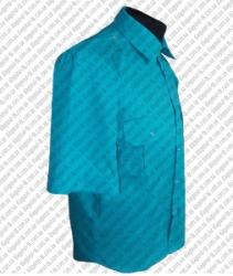Форменная рубашка на короткий рукав под резинку