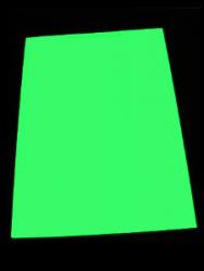 Фотобумага с эффектом автономного свечения в темноте