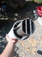 Коаксиальна труба, коліно, прокладки до газового котла