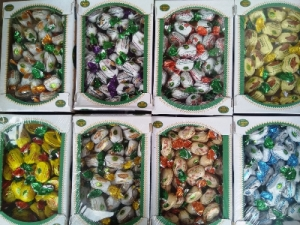 Конфеты шоколадные, Рахат-лукум, Конфеты Perfetto, Арахис в шоколаде