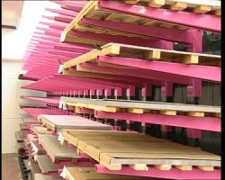 Консольный стеллаж для склада