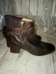 Кожаные итальянские ботинки, 37 размер