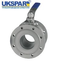 Кран шаровой фланцевый стальной укороченный. UKSPAR