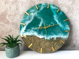 Настенные часы «Just Sea»