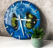 Настенные часы «Paradise islands III»