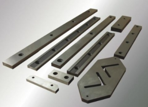 Ножи гильотинные длиной до 1200 мм, ножи к пресс-ножницам - под заказ