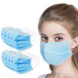 Оптовая продажа трехслойных защитных медицинских масок
