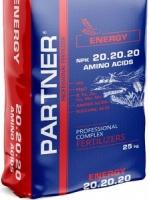 """Партнер Partner """"ENERGY"""" 20-20-20+S+ME+АМК 25 кг"""