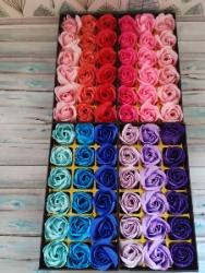 Подарок девушке Подарунок дівчині Подарок на Новый год Цветы из мыла