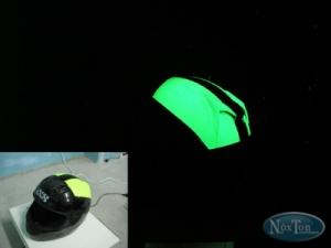 Полиуретановая светящаяся краска Нокстон для пластика и ПВХ
