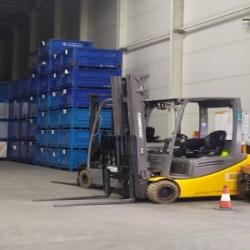 Польша Работа на складе со сканером