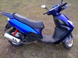 Продам скутер VIPER STORM с регистрацией.