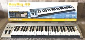 ПРОДАЮ MIDI-клавіатуру M-Audio KeyRig 49