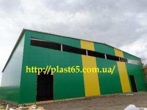 Производство ангаров, Украина, производство складов, зданий.
