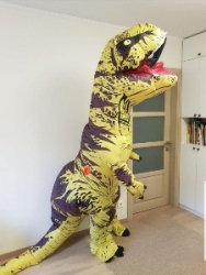 Прокат Надувной костюм динозавра T-Rex (Тиранозавр)
