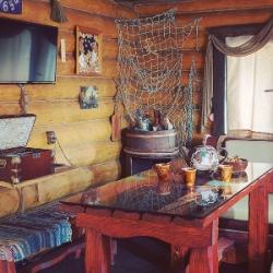 Русская баня Домик рыбака