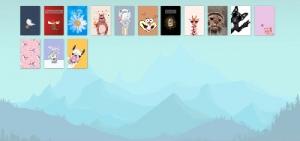 Сайт подарок, онлайн открытка, коллекция открыток :)