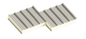 Сендвіч-панелі дахові поліуретан та пінополіізоціанурат