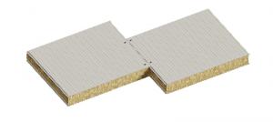 Сендвіч панелі стінові з наповнювачем базальтова мінвата