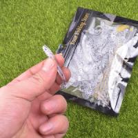 Силикон виброхвост червь мягкая приманка искусственный средний 48 мм
