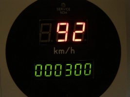 Спидометр-одометр цифровий