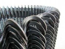 Спираль эластичная, Спиральный шнек, гибкий шнек.