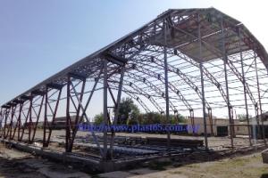 Строительство ангаров, Киев каркасных быстровозводимых зданий под ключ