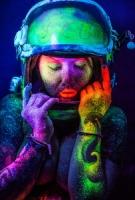 Светящаяся боди - арт краска Нокстон. Абсолютно безопасна