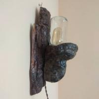 Світильник бра з дерева