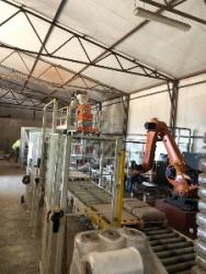 Упаковочная линия ESSE GI с роботом-палетоукладчиком Kuka