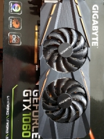 ВидеоКарту  Gigabyte GeForce GTX 1060 3GB GDDR5 192bit  бу.