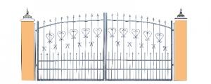 Ворота, калитки, ограждения, решётки