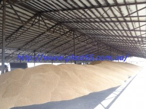 Ангары для хранения сена, зерна под ключ, Украина.