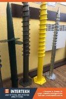 Геошурупы - винтовые сваи, отличное решение при строительстве