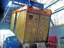 Кантователь контейнера