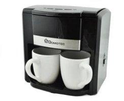 Кофеварка Domotec на 2чашки