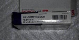 Кольца компрессора автобуса Икарус 75,5 (1 ремонт)