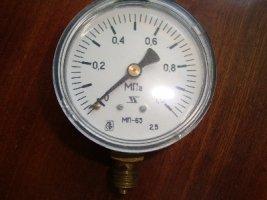 манометры МП63,KFM EN837-1