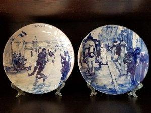 Продам коллекцию 12 месяцев тарелок голландской фирмы Delf.
