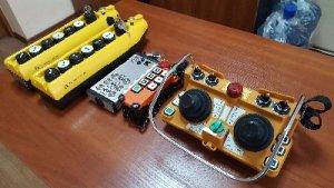 Система радиоуправление краном ККРУ-10