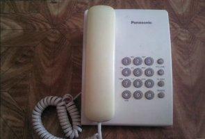 Стаціонарний телефон Panasonic